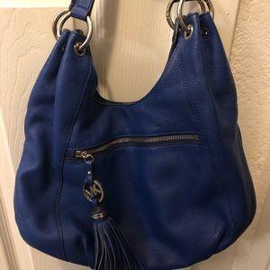 Blue Michael Kors Purse and matching wallet